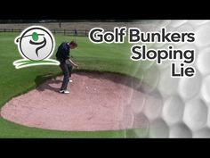 Once you're comfortable playing a basic bunker shot, we can look at more troublesome sand play…  In this lesson, we'll see how to play a bunker shot where the ball is sitting on a sloping lie.