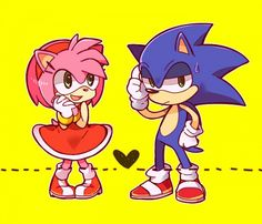 Tags: Anime, Sonic the Hedgehog, Pixiv, Sonic the Hedgehog (Character), Amy Rose