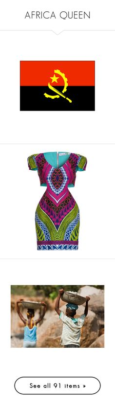 """""""AFRICA QUEEN"""" by neide-goncalvesbrito ❤ liked on Polyvore featuring flags, accessories, camel, jumpsuits, rompers, jump suit, playsuit jumpsuit, playsuit romper, romper jumpsuit and dresses"""