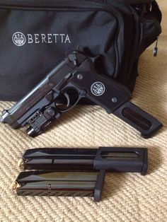 Beretta 92A1 with 30 Round Mags. Love that option. Have the Beretta Cx4 Storm…