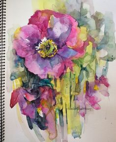 Watercolors: April hues