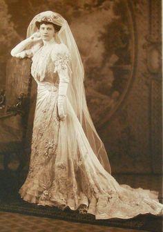 Marjorie Merriweather Post Wedding Dress 1905