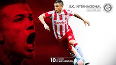 Poster Andrés D'Alessandro Sport Club Internacional on Behance