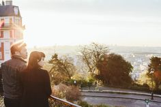 Photographer in Paris Couple Montmartre Sunrise IheartParisfr