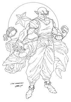 Piccolo - The Namekian by CBS-Ink.deviantart.com on @DeviantArt