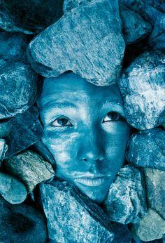 Blue Stones by Johannes Stoetter