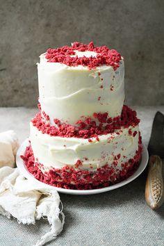 Red velvet witte chocolade