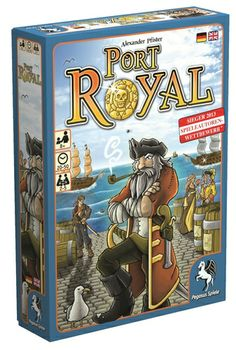Port Royal. Board Game. Love the cover art ;)