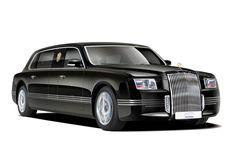 Russian Presidential Kortezh Limousine - Cortege Cars Project.