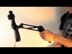 DJI OSMO tends to have unwanted up and down but by bending your knees it will reduced. And adding this DIY as 4 axis of the gimbal can totally eliminate it. Professional Camera, Dji Osmo, Diy, Youtube, Tecnologia, Bricolage, Professional Cameras, Diys, Handyman Projects