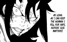 Gajeel confession FAIRY TAIL