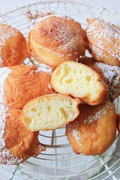 Błyskawiczne pączki na jogurcie greckim | Tysia Gotuje blog kulinarny Pretzel Bites, Bread, Blog, Brot, Blogging, Baking, Breads, Buns