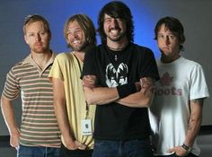The Foo Fighters - is it weird that Dave Grohl reminds me of Olan Rogers?