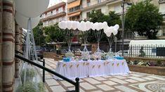 Όμορφη βάπτιση με θέμα το αερόστατο για το μικρό Κυριάκο • ogamosmas.gr