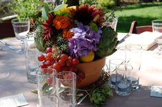 Lavender Floral Bouquet Photo Gallery - Country Garden Flowers - Napa and Sonoma County Wedding Florist Hall Winery, Centerpieces, Table Decorations, Sonoma County, Fall Flowers, Floral Bouquets, Photo Galleries, Fruit, Determination
