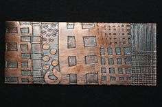 Etching Brass and Copper with Ferric Chloride
