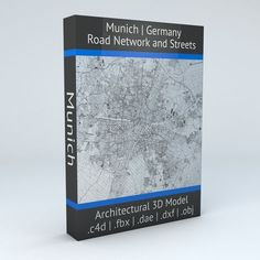 Munich Road Network and Streets | 3D model