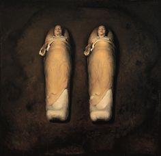 Odd Nerdrum – Sleeping Twins