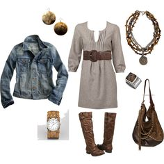 Casual & cute for fall.