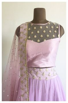 The Lavender Saba Lehenga Set