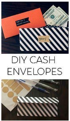 Diy Cash Envelope Wallet, Origami Envelope, Diy Wallet, Dave Ramsey Envelope System, Envelope Budget System, Cash Envelope System, Budget Envelopes, Money Envelopes, Diy Organizer