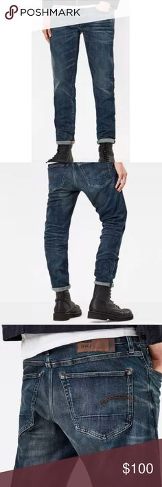 G-Star RAW 3301 Mens Tapered Jeans Mens Jeans Buy Jeans for Men COLOUR-medium aged