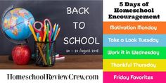 Back to School Encouragement for Your Homeschool {a series} - Apron Strings & other things New School Year, Back To School, How To Make Magnets, Circle Magnets, Today Is Friday, Wednesday, Chore Chart Kids, Thankful Thursday, 24. August