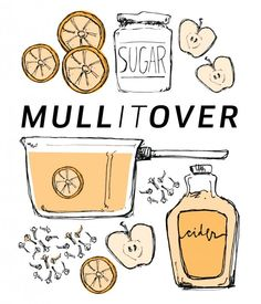 A Hot Mulled Cider Recipe