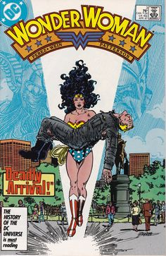 Wonder Woman 3  April 1987 Issue  DC Comics  Grade by ViewObscura