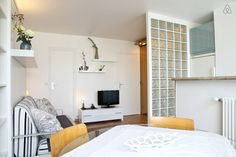 Check out this awesome listing on Airbnb: Bright and modern studio in Paris - Apartments for Rent in Paris