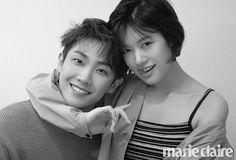 Lee Joon e Jung So Min formam um belo casal para 'Marie Claire'