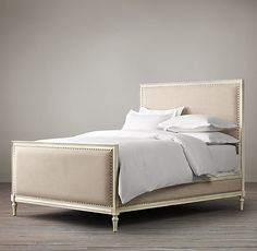 maison bed, restoration hardware