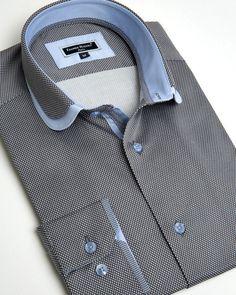 mens Jeans – High Fashion For Men Formal Shirts For Men, Cotton Shirts For Men, Casual Shirts, High Collar Shirts, Shirt Collar Styles, Camisa Slim, Camisa Polo, Gents Shirts, Mens Shirt Pattern