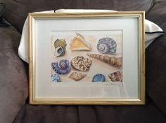 Shells Shells, My Arts, Frame, Home Decor, Seashells, Homemade Home Decor, Conchas De Mar, A Frame, Sea Shells