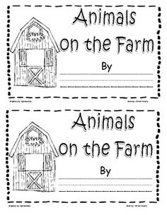 Little reader for PreK and Kinder students. This is a printable take home book. After reading story, students can color pictures according to the text. Farm Animal Crafts, Farm Crafts, Farm Animals, Student Teaching, Teaching Resources, Farm Lessons, Farm Unit, Preschool Printables, Preschool Farm