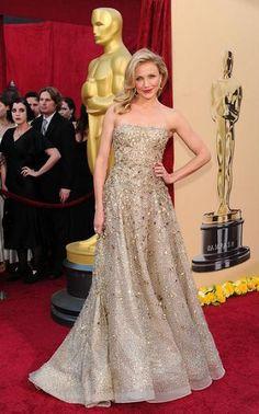 Cameron Diaz in Oscar de la Renta at the 2010 Academy Awards