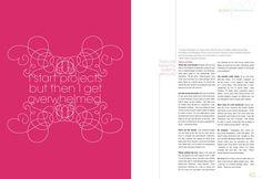 Editorial Design by Narani Kannan, via Behance