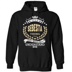 I Love SEBESTA T-Shirts