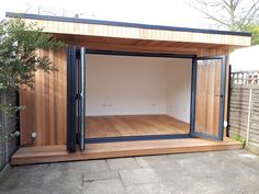 Office In My Garden is a bespoke Garden Room Company based in North London specialsing in the construction of Garden Rooms, Garden Offices and Summerhouses Backyard Office, Backyard Studio, Backyard Sheds, Garden Studio, Backyard Patio, Outdoor Office, Outdoor Rooms, Garden Office Shed, Garden Gym Ideas