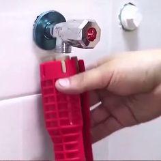 Sink Repair, Plumbing Installation, Plumbing Tools, Home Fix, Diy Home Repair, Home Gadgets, 3d Prints, Home Repairs, Diy Home Improvement