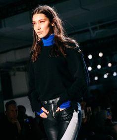 Why Bella Hadid cried at two NYFW runway shows.