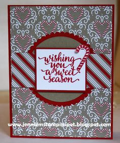 Jennie M's Stampin Spot: Holiday Preview for a Mojo Monday Sketch