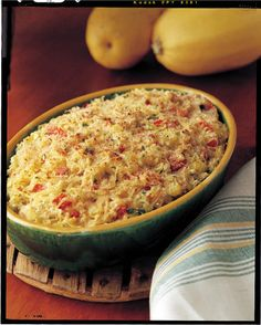 Spaghetti Squash Casserole - add chicken and rotel