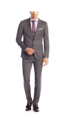 HUGO BOSS, 'Ryan/Win' | Extra Slim Fit, Stretch Virgin Wool