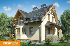 DOM.PL™ - Projekt domu Mój Dom Bratek CE - DOM BM6-33 - gotowy koszt budowy Style At Home, Rustic Modern, Home Fashion, Planer, House Plans, Cabin, Mansions, House Styles, Home Decor