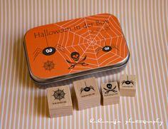 "Halloween Stamps - Stempelset ""Halloween in der Box"" by kukuwaja  http://kukuwaja.blogspot.de/2012/10/halloween-party.html"
