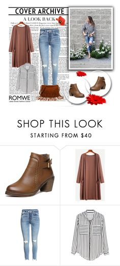 """Romwe 1/VIII"" by nermina-okanovic ❤ liked on Polyvore featuring romwe"