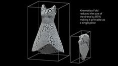 This video shows how the Kinematics Fold software compresses a dress for 3D printing    music: Snowball by Moby