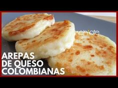CÓMO HACER AREPAS DE QUESO COLOMBIANAS | Arepas Colombianas Exquisitas! - YouTube Colombian Arepas, Colombian Food, Empanadas Recipe, Spanish Dishes, Comida Latina, Latin Food, Dessert For Dinner, International Recipes, Us Foods