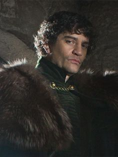 James Frain as the Earl of Warwick (The Kingmaker) in the White Queen
